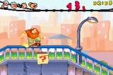 Popeye: Rush for Spinach Game Boy Advance Yes, that's J. Wellington Wimpy doing a rail grind.