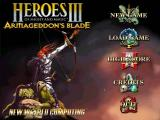Heroes of Might and Magic III: Armageddon's Blade Windows Main menu