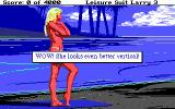 Leisure Suit Larry III: Passionate Patti in Pursuit of the Pulsating Pectorals DOS Meeting a woman