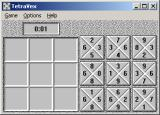 TetraVex Windows 3.x A starting grid
