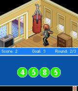 The OC J2ME The punching bag comes with a memory mini-game.