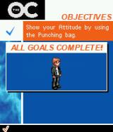 The OC J2ME Complete objectives to advance the story.