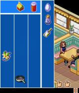 The OC J2ME The mini-game in the diner: catch the correct items to serve the clients.