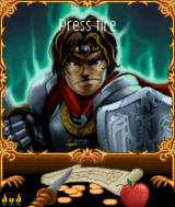 Dungeons of Despair J2ME Title screen (Nokia s60 - English version)