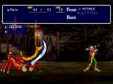 Thousand Arms PlayStation Fighting the first boss. He's a pushover
