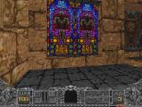 Hexen: Beyond Heretic Macintosh Break the window to see what is on the other side.