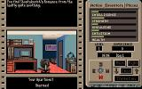 The Third Courier Amiga The game begins inside your apartment