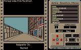The Third Courier Amiga Walking around the city