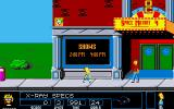 The Simpsons: Bart vs. the Space Mutants Amiga Walking around in Springfield