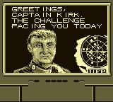 Star Trek: 25th Anniversary Game Boy Mission Briefing