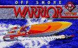 Off Shore Warrior Atari ST Loading screen