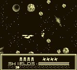 Star Trek: 25th Anniversary Game Boy Asteroid Belt