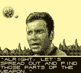Star Trek: 25th Anniversary Game Boy Find the weapon