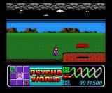 Psychic World MSX Time your jumps across these rotating platforms