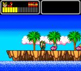 Wonder Boy III: Monster Lair TurboGrafx CD Pink hermit crabs!