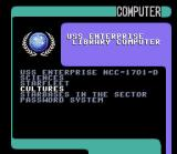 Star Trek: The Next Generation - Echoes from the Past SNES Accessing the database