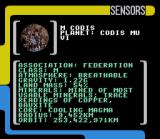 Star Trek: The Next Generation - Echoes from the Past SNES Scanning a planet