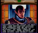 Star Trek: The Next Generation - Echoes from the Past SNES Talking to a Romulan