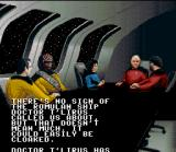 Star Trek: The Next Generation - Echoes from the Past SNES Briefing Room