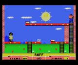 RNFF: Running Naked in a Field of Flowers MSX Lure the clothes to fall down, then climb the ladder