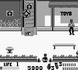 The Punisher: The Ultimate Payback! Game Boy Shooting a first aid kit causes healing at a distance