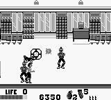 The Punisher: The Ultimate Payback! Game Boy hostage situation iin the supermarket.  I just took one out with a grenade