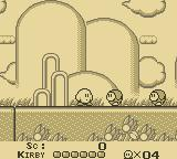 Kirby's Dream Land Game Boy Stage 1