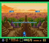 Super Buster Bros. SNES Some levels start with creative scenarios not seen in the coin-op version