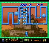 Super Buster Bros. SNES Some clever management of which balls to release first is needed in this level
