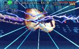 Thunder Force V: Perfect System SEGA Saturn Nice pyrotechnics courtesy of dying Leviathan.