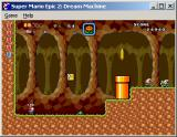 Super Mario Epic 2: Dream Machine Windows Venturing deep underground.