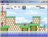 Super Mario Epic 2: Dream Machine Windows Taking the air by the seaside.