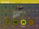 Tank Racer Windows choosing your vehicle