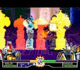Mighty Morphin Power Rangers: The Fighting Edition SNES Using his Super Move Ninja Clones, Ninja Megazord minimizes the danger caused by Shogun Megazord...