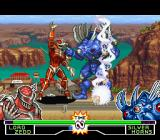 Mighty Morphin Power Rangers: The Fighting Edition SNES Before that Silver Horns counterattacked, Lord Zedd used his lightning move to finish it... on time!
