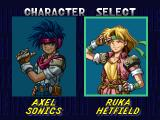 Rapid Reload PlayStation The player has a choice of two characters – a male, and a female.
