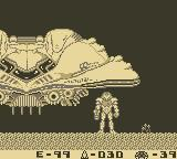 Metroid II: Return of Samus Game Boy Samus's Ship