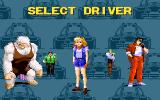 World Rally Fever: Born on the Road DOS Choose from several different characters.