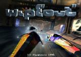 WipEout SEGA Saturn Title screen