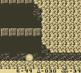 Metroid II: Return of Samus Game Boy Roll into tight corridors.