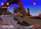 WipEout SEGA Saturn More impressive scenery.