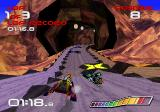 WipEout SEGA Saturn Going into yet another tunnel.