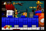 Clockwork Knight SEGA Saturn Push the battery into the slot to activate the crane