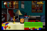 Clockwork Knight SEGA Saturn Push the batter in the slot to start the train which will crucial in this level
