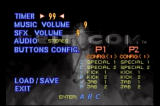 Criticom SEGA Saturn Options screen