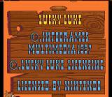 Lucky Luke SNES License Information