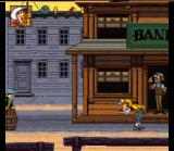 Lucky Luke SNES You may shoot your enemies from different poses...