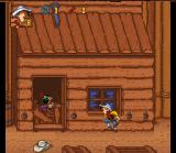 Lucky Luke SNES Bad Indian want to shoot you with his arrow...