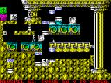 Quadrax ZX Spectrum level 14 - one character was killed by falling door