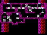 Quadrax ZX Spectrum level 27 - being teleported to another location